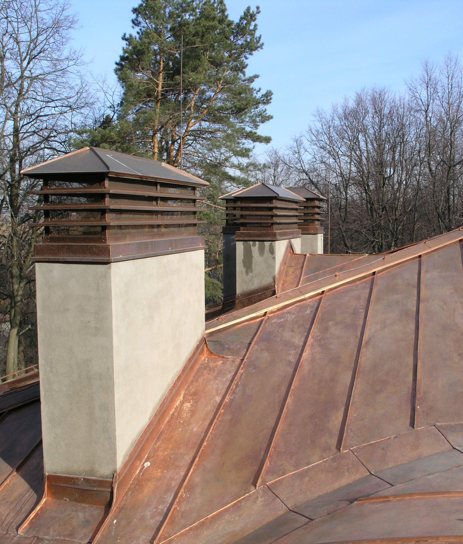 Меднная крыша